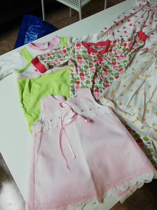SOLO HOY lote ropa 0-6 meses primavera verano niña
