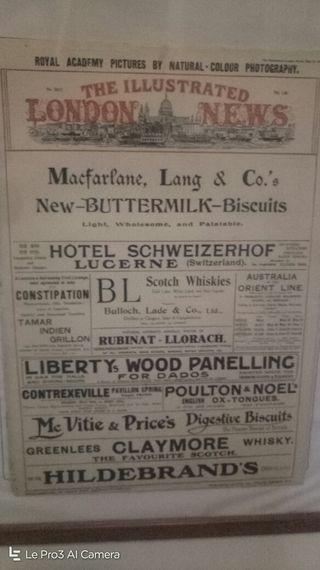 periódico inglés de 1912