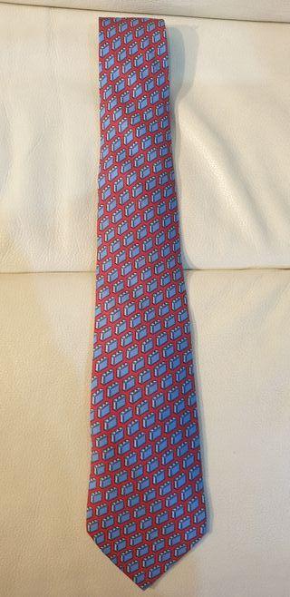 Corbata HERMES 9cm