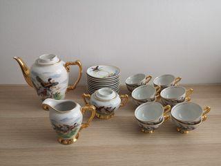 juego de té porcelana jäger