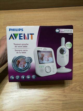 Vigilabebés NUEVO con cámara digital Marca Philips