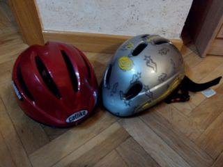 2 cascos x 10 euros
