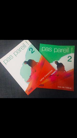 Libros francés Pas Pareil! 2 Teoría y gramatica.