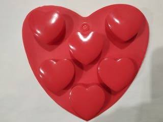 Molde corazones