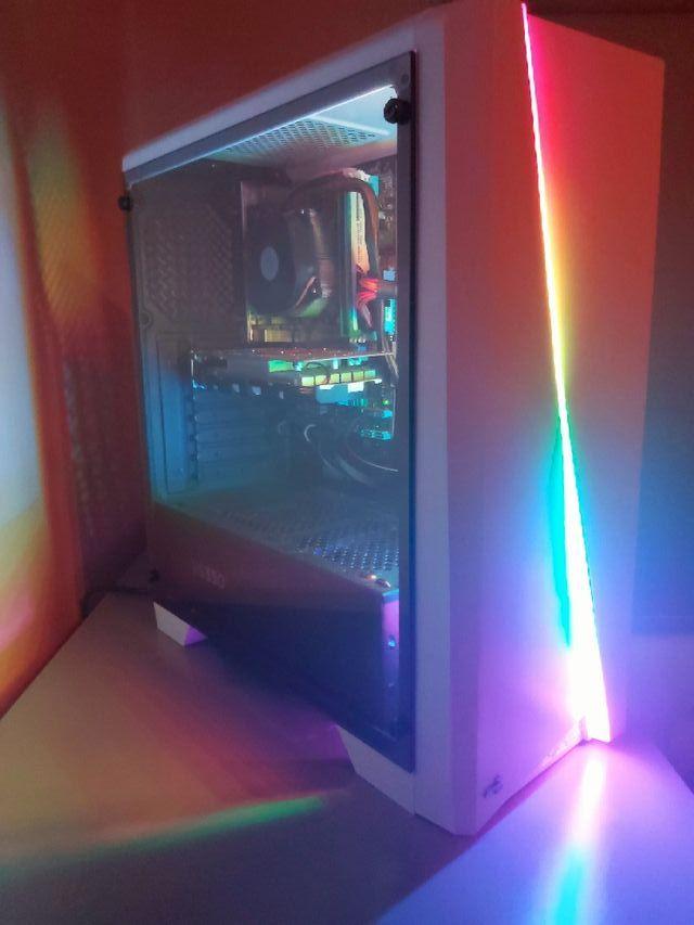 RGB gaming computer