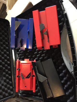 cuchillas nuevas para conductos Acc