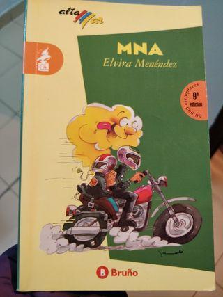 MNA. Libro literatura juvenil