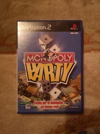 monopoly party completo ps2 buen estado