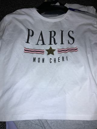 White Paris top