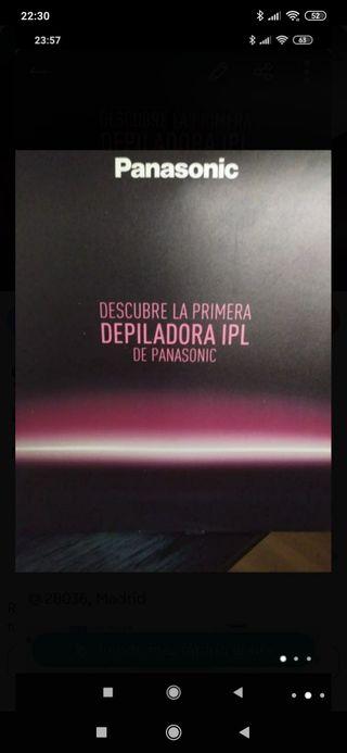 Depiladora IPL de Panasonic