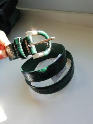 Cinturón verde serpiente