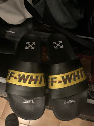 Chanclas off-whit
