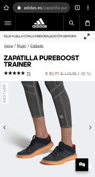 zapatillas deportivas Adidas pureboost stella 2020