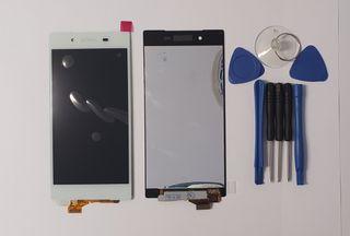 Pantalla táctil LCD blanco blanca Sony Xperia Z5