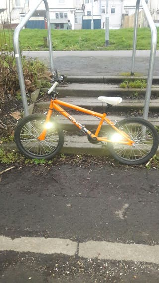 X rated - crank bmx /wheelie bike