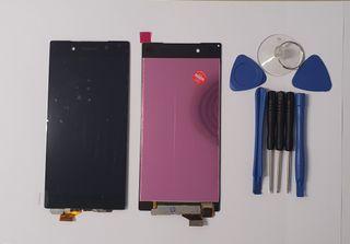 Pantalla táctil LCD negro negra Sony Xperia Z5