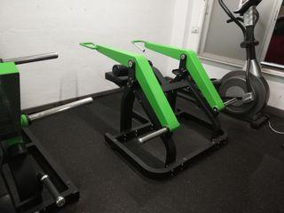 Lote máquinas de musculacion
