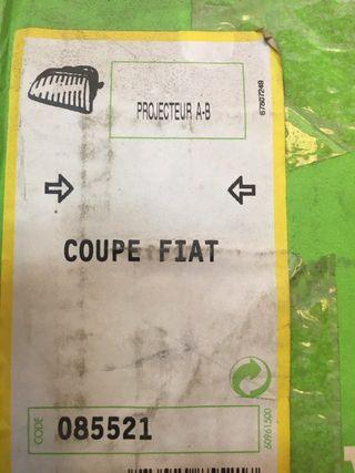 Faro antiniebla Fiat coupe derecho