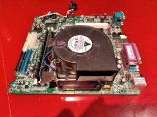 Placa base con procesador Intel Pentium 4, con cpu
