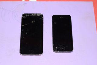 iPhone 6 y iPhone 5 para piezas