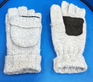 guantes 2 en 1 con y sin dedos