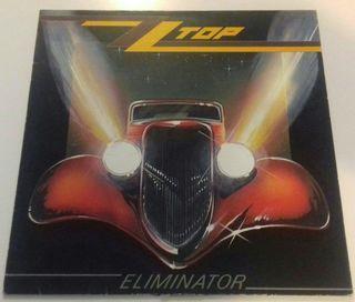 Vinilo ZZ TOP album Eliminator