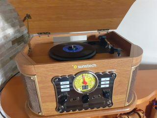 Radio toca discos imitacion a las antiguas