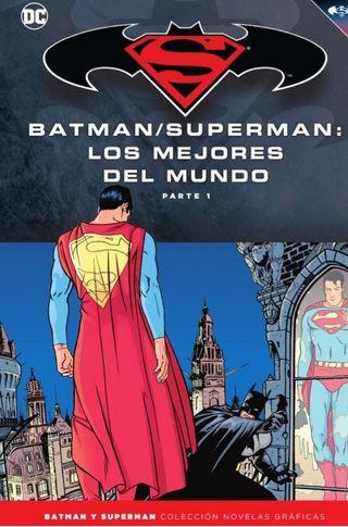 BATMAN Y SUPERMAN. DC COMICS. SALVAT. ECC