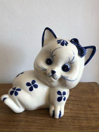 Figura vintage gatita
