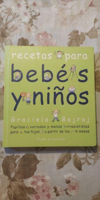 Libro cocina infantil. Recetas para bebés y niños