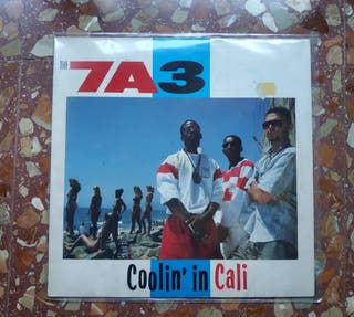 VINILO LP: 7A3 - COOLING IN CALI (CYPRESS HILL)