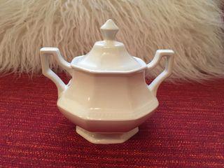 Azucarero porcelana vintage nuevo