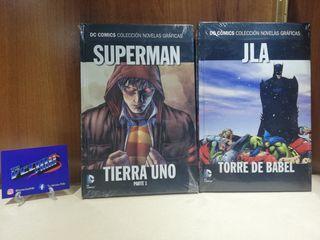 Pack DC Cómics. Superman + JLA