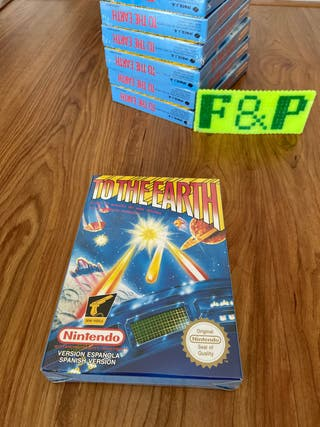 To The earth nintendo nes stock