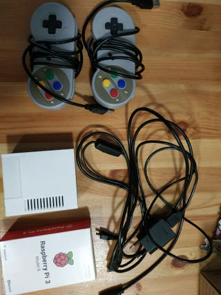 raspberry pi 3 1gb ram y 128 GB con 30000 juegos