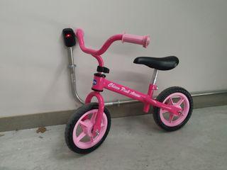 Bicicleta Chicco rosa+patinete Juguettos