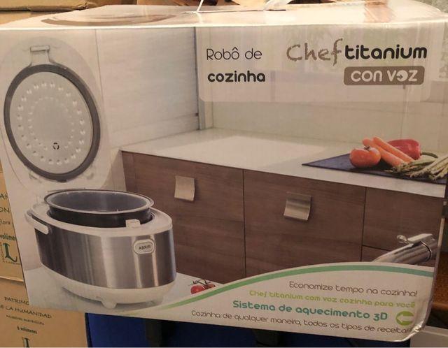 Robot de cocina Chef Titanium
