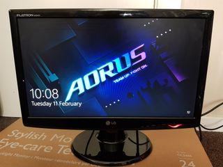 "LG flatron 20"" monitor"