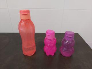 Botellas tupperware