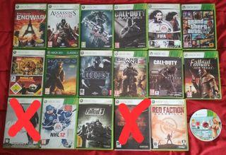 xbox 360 juegos varios