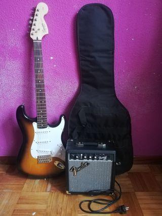 Guitarra eléctrica Fender SQ Stratocaster