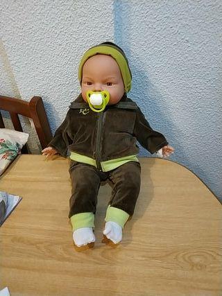 muñeco restaurado