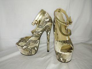 High Heel Woman's Shoes