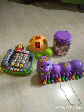 juguetes de bebé