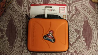 Funda Nintendo 2DS/3DS 'Mario Kart' naranja
