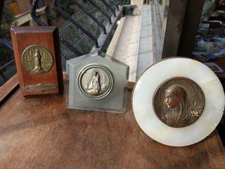 lote antigüedades marcos religiosos