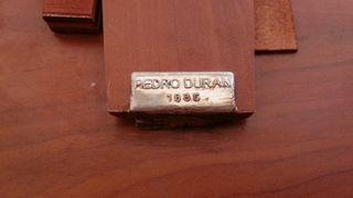 Marco plateado. Chapado en plata. Pedro Duran