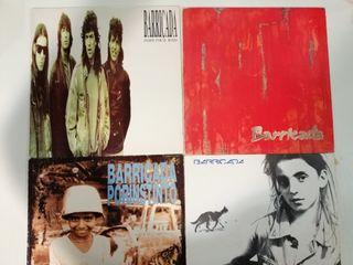 Barricada 4 Lps discos de vinilo Rock Heavy Metal