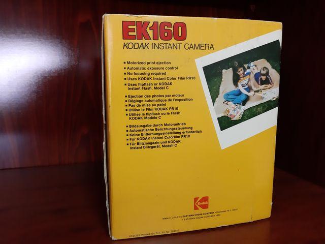 Cámara de fotos INSTANTANEA KODAK EK-160
