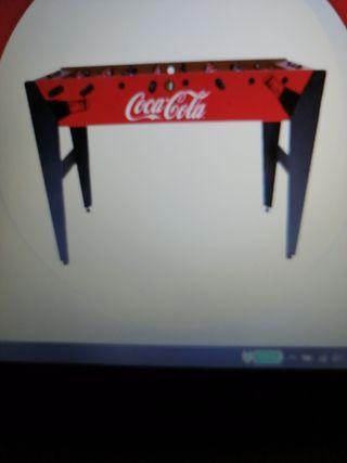 Futbolin coca cola